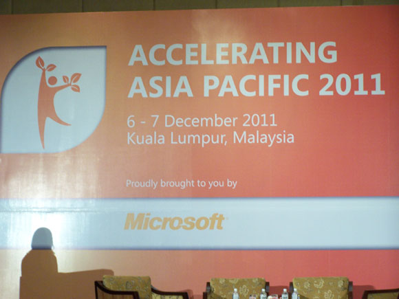 Microsoft Accelerating Asia Pacific 2011 Summit