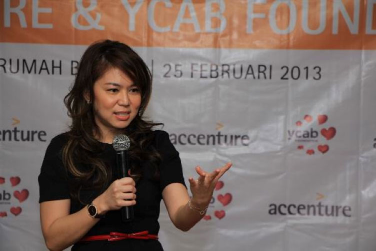 Veronica Colondam thanked Accenture