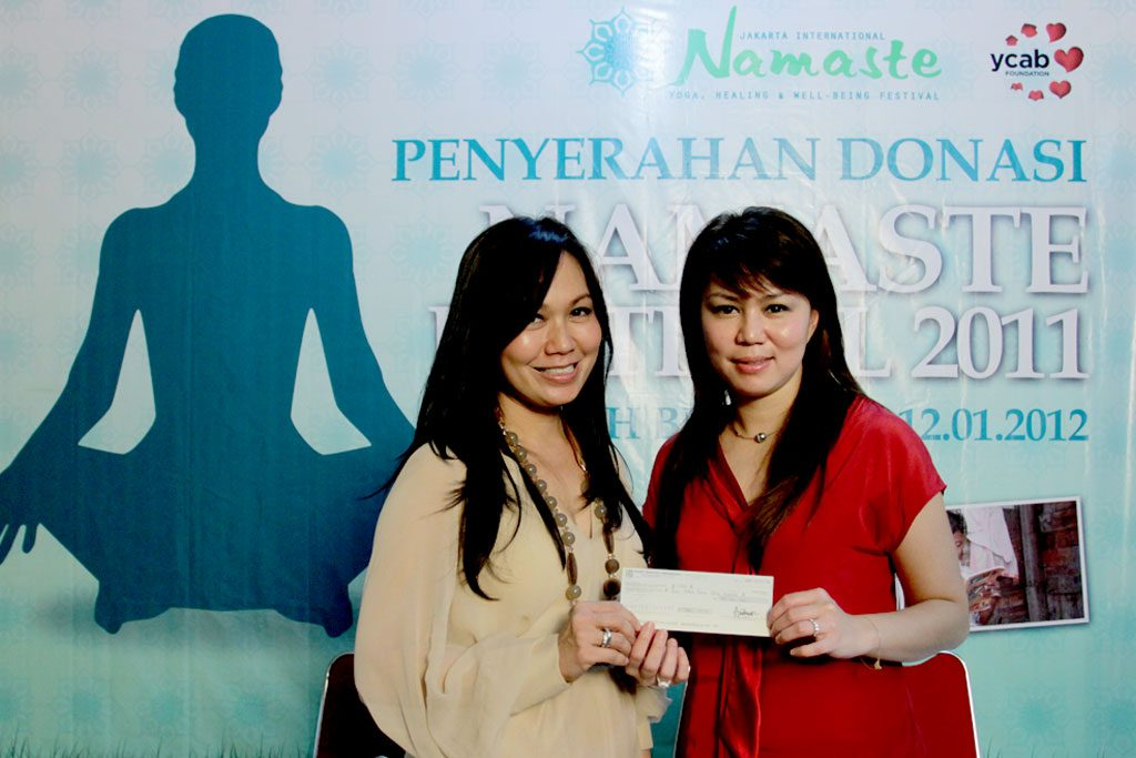 symbolized donation