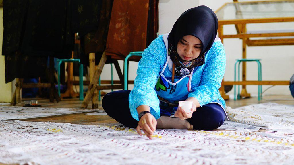 Launching YCAB Rumah Batik
